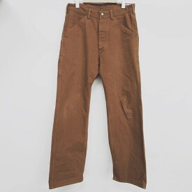 TROPHY CLOTHING(トロフィークロージング) パンツ  サイズ:32 カラー:ブラウン【中古】【アメカジ】【鈴鹿 併売品】【128-190228-01AS】