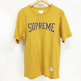 Supreme (シュプリーム) ロゴTシャツ Tee サイズ:S カラー:イエロー【中古】【DM】【鈴鹿 併売品】【125-190912-01AS】