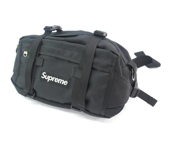 SUPREME 08SS WAIST BAG シュプリーム ウエストバッグ ブラック/BOX LOGO【中古】【カバン】【四日市 併売品】【137-180806-01ahH】