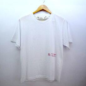 Martine Rose classic logo tee マーティン・ローズ クラシックロゴTシャツ サイズ:XL/ホワイト【中古】【レディーストップス】【四日市 併売品】【132-180905-02CH】