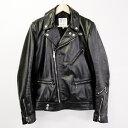 Lewis Leathers(ルイスレザーズ) ホースハイド サイクロンタイトフィット ライダースジャケット ブラック サイズ:38(M)【中古】【…