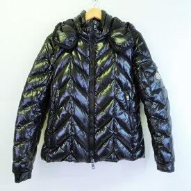 MONCLER(モンクレール) BERRIAT ダウンジャケット ブラック サイズ:1(S)【中古】【インポート】【四日市 併売品】【122-190412-01YH】