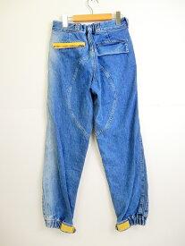 Gosha Rubchinskiy(ゴーシャラブチンスキー)GR-Uniforma Diesel Army Pants With Zips&Patches デニム パンツ GR01P301-1 インディゴ サイズ:S【中古】【126 ストリート】【四日市 併売品】【126-190715-03YH】