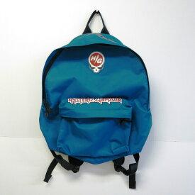 HYSTERIC GLAMOUR Metal Logo Nylon Backpack ヒステリックグラマー メタルロゴ ナイロン バックパック ブルー【中古】【137 カバン】【四日市 併売品】【137-190720-10USH】