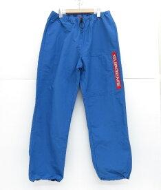 SUPREME 19AW Heavy Nylon Pant シュプリーム ヘビーナイロン パンツ ブルー サイズ:M【中古】【126 ストリート】【四日市 併売品】【126-191028-09USH】