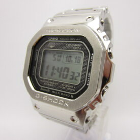 CASIO カシオ G-SHOCK ジーショック ORIGIN フルメタル 腕時計 メンズ GMW-B5000D-1JF シルバー 【中古】【141 時計】【四日市 併売品】【141-201018-09OH】