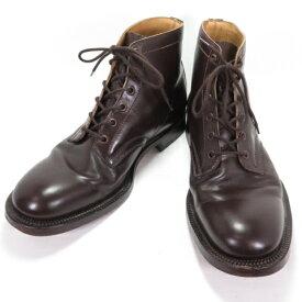 Alfred Sargent アルフレッドサージェント 6タイ ダービーブーツ 4736 BROWN CALF UK7.5 26.0cm 【中古】【140 その他靴】【四日市 併売品】【140-210513-04OH】
