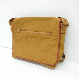SUPREME×LACOSTE 19AW Small Messenger Bag シュプリーム×ラコステ スモール メッセジャーバッグ ブラウン【中古】【137 カバン】【四日市 併売品】【137-191106-04USH】