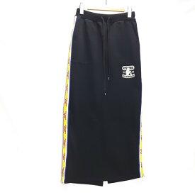 HYSTERIC GLAMOUR UNTAMED pt ヒステリックグラマー サイドライン スカート ブラック サイズ:F【中古】【133 レディースボトムス】【四日市 併売品】【133-191210-04USH】