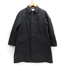 Scye Ventile Overcoat サイ ベンタイル オーバーコート 1112-73002 ブラック サイズ:36【中古】【125 DM】【四日市 併売品】【125-201011-10USH】