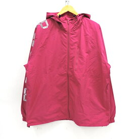 SUPREME 20SS Digital Logo Track Jacket シュプリーム デジタルロゴ トラックジャケット Fuchsia(フクシャ)(赤紫) サイズ:L【中古】【126 ストリート】【四日市 併売品】【126-201129-11USH】