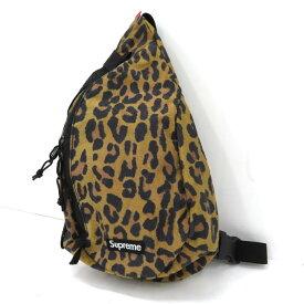 SUPREME 20AW Sling Bag シュプリーム スリングバッグ レオパード【中古】【137 カバン】【四日市 併売品】【137-210924-04USH】