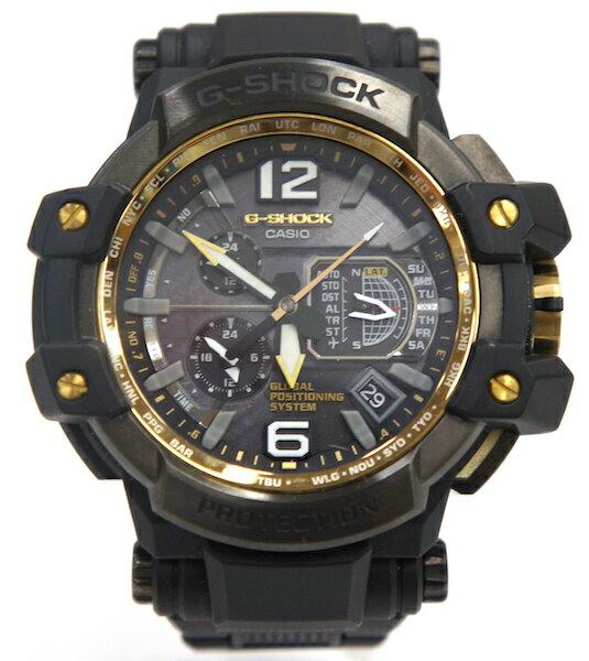 G-SHOCK GRAVITY MASTER GPW-100 ジーショック ソーラー メンズ 腕時計 ブラック【中古】【時計】【日永 併売品】【1410172UN】