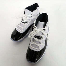 0df8093c446e6e NIKE(ナイキ) AIR JORDAN 11 RETRO サイズ:26.5 カラー:WHITE BLACK