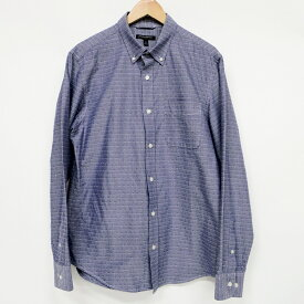 BANANA REPUBLIC(バナナリパブリック) ボタンダウンシャツ サイズ:M カラー:Blue系【中古】【122 インポート】【鈴鹿 併売品】【122-190419-02NS】