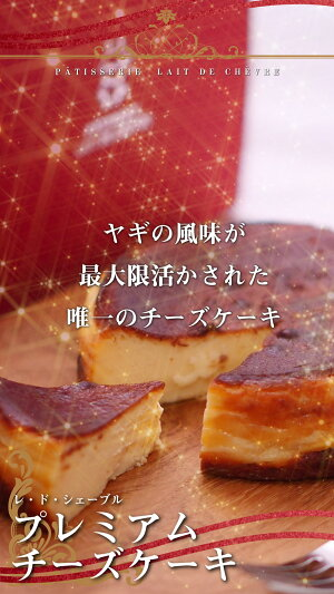 ヤギミルクチーズケーキ