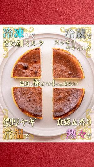 【3980円以上送料無料】ヤギミルクチーズケーキ