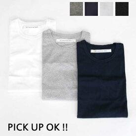 EEL(イ—ル) / EEL PRODUCTS (イールプロダクツ) 【PICK UP EDITION TSHIRTS】クルーネック無地Tシャツ E-19512 【2P PACK TEE】プリパック Tシャツ[一着分の値段です] 【定番Tシャツ】【クリックポスト対応】[19'S/S新作-新色BLACKが追加] ユニセックス / 男女兼用可能