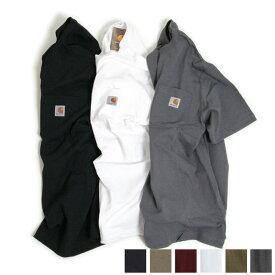 【USA企画-定番商品】カーハート CARHARTT K87 半袖 ポケット Tシャツ ORIGINAL FIT REGULAR 【クリックポスト対応】【ユニセックス-女性が着てもルーズさが新鮮】