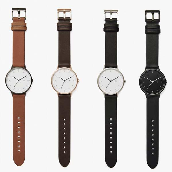 [定番アイテム]INSTRMNT (インストゥルメント)[01-A GM/T] [01-B RG/B] [01-C BS/B] [01-D BB/B] レザーベルト付き 組み立て式 腕時計 (4色)【送料無料】【あす楽対応】