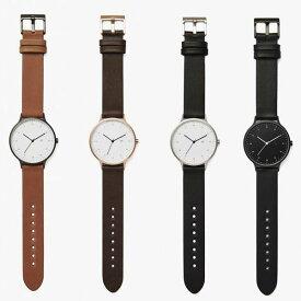 [定番アイテム] INSTRMNT (インストゥルメント) [01-A GM/T] [01-B RG/B] [01-C BS/B] [01-D BB/B]レザーベルト付き組み立て式 腕時計(4色)