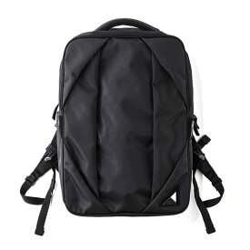nunc (ヌンク) Rectangle Backpack / NN002010 / バッグパック (BLACK) / ビジネス対応バッグ / オンオフ兼用バッグ / ユニセックス