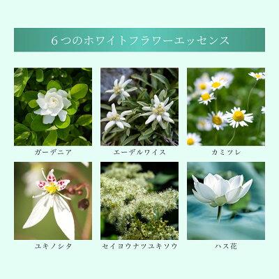 6つの白花エッセンス配合