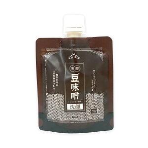 和肌美泉 発酵・豆味噌イソフラボン洗顔 100g【くすみ 白肌 なめらか肌 ダイズ発酵美容成分 イソフラボン】