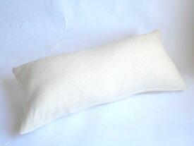 ロングクッションカバーサイズ45×90cm パイル(シマ模様ベージュ)ファスナー式【日本製】だきまくら、ベッド、抱きまくら 、抱枕、横向き寝、横向き寝用枕安眠枕、寝具、妊婦、洗える、おしゃれ、大きい、夏用、抱きまくら、抱き枕カバー