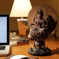 仏像フィギュア愛染明王あいぜんみょうおう高さ30.5cmインテリア雑貨置物精巧Isumu(イスム)スタンダード