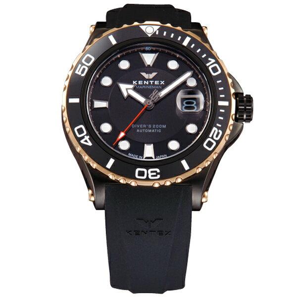 ケンテックス ダイバーズウォッチの国際規格 ISO06425 をクリア メンズ腕時計 メンズウォッチ MARINEMAN SEAHORSE II S706M-16
