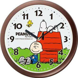 Citizen rhythm clock PEANUTS Snoopy wall clock Snoopy M712A 4KG712MA06