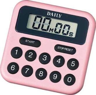 Citizen (citizen) rhythm clock DAILY digital timer BS pinkness TT010DA13