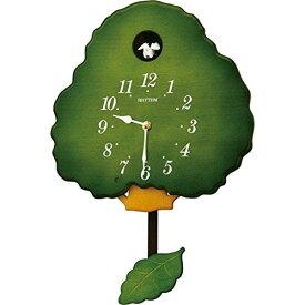 掛け時計 壁掛け時計 カッコー時計 シチズン リズム時計 グレイスカッコー413R 報時 ハト時計 振り子 アナログ 4MJ413RH05 CITIZEN
