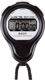 西鐵城居民韻律鐘表計時器BS防滴仕様時計付秒表數碼LC059DA02