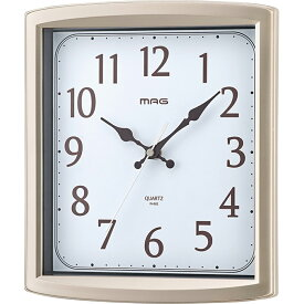 置き時計 掛け時計 置時計 掛時計 置掛時計 ウラノス アナログ シャンパンゴールド MAG マグ W-682 CGM-Z マグ ノア精密 MAG
