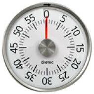 DRETEC(ドリテック)残り時間が色でひと目でわかるダイヤルタイマーホワイトT-315WTT-315WT