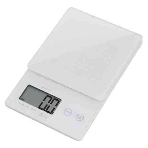 キッチンスケール デジタルスケール ストリーム 2kg はかり 0.1g単位ではかれるシンプルな高精度スケール KS-245WT DRETEC ドリテック