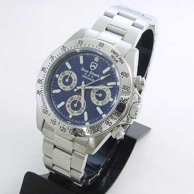 ダンクラーク クロノグラフ メンズウォッチ 腕時計 DM2051-04