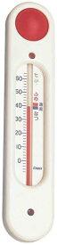 エンペックス empex 湯温計 湯温度計 おふろの湯温計 風呂用 吸盤付 元気っ子 TG-5101 ホワイト empex