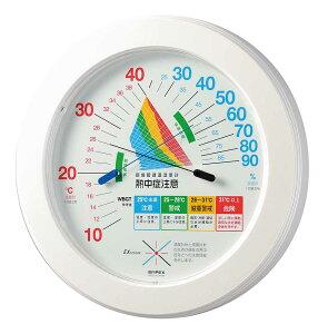 エンペックス empex 温度湿度計 温度計 湿度計 壁掛け 壁掛用 環境管理 熱中症注意 TM-2482 empex