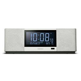 スピーカー 置時計 置き時計 カレンダー スマートフォンや携帯音楽プレーヤー等のBLUETOOTH対応機器 セイコー クロック SEIKO SS501A