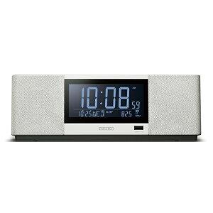 スピーカー 置時計 置き時計 カレンダー スマートフォンや携帯音楽プレーヤー等のBLUETOOTH対応機器 セイコー SEIKO クロック SS501A