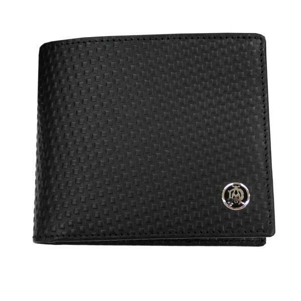 ダンヒル DUNHILL MICRO D-EIGHT 二つ折り財布(小銭入れ有) L2V332A ブラック