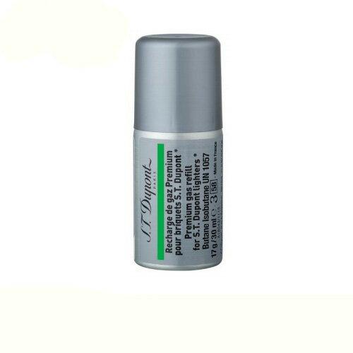 [3本セット] デュポン ライター用 ガスレフィル 専用ガスボンベ 緑色ラベル 000433 (ギャツビー用) S.T.Dupont