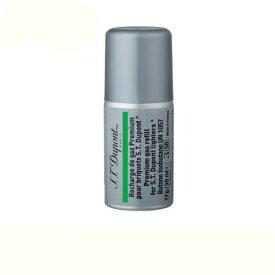 [3本セット] デュポン 専用 ガスボンベ ライター用 ガスレフィル 緑色ラベル 000433 (ギャツビー用) S.T.Dupont
