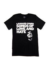 バンドTシャツLEONARDCOHEN/LOVEANDHATEレナード・コーエンオフィシャルバンドTシャツシンガーソングライター詩人小説家