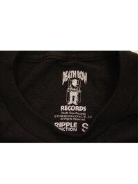バンドTシャツDEATHROWRECORDS/WHITELOGOデス・ロウ・レコードオフィシャルバンドTシャツSnoopDogg2PACDr.Dre