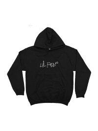 LILPEEP/COMEOVERHOODIEリル・ピープオフィシャルプルオーバーパーカーフーディー裏起毛バックプリントヒップホップラップ
