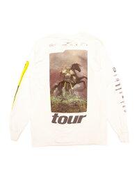 ミュージックTシャツPOSTMALONE/HORSESL-Sポスト・マローンオフィシャルヒップホップTシャツ長袖バックプリントラップTRAPHIPHOP